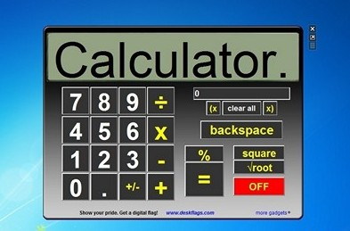 Calc Free Desktop Gadgets For