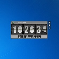 desktop clock for windows 10