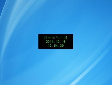 QoB Clock - Free Desktop Gadgets For Windows 10, Windows 8